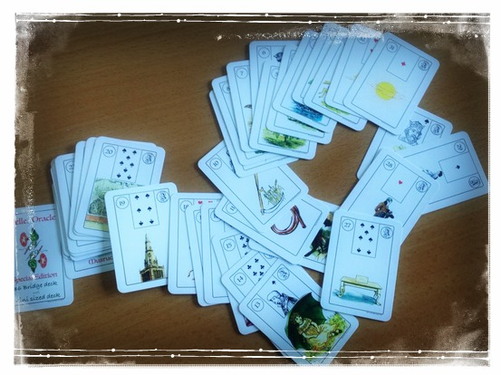 Melle Lenormand deck mini